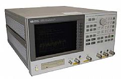 HP/AGILENT 4396A/1D5/1D6/10 NETWORK/SPECTRUM/IMPEDANCE ANAL., 100 KHZ-1.8 GHZ